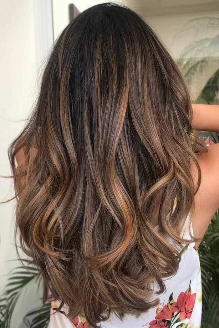 wedding quotes balayage caramel sur base brune balayage. Black Bedroom Furniture Sets. Home Design Ideas