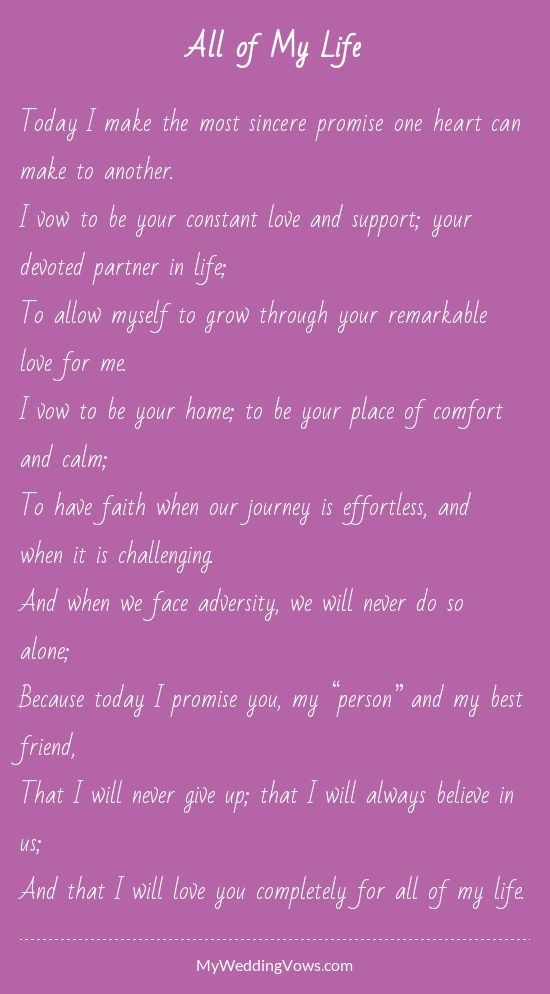 Wedding Quotes 7 Sweet Renewal Wedding Vows And Ceremony Ideas