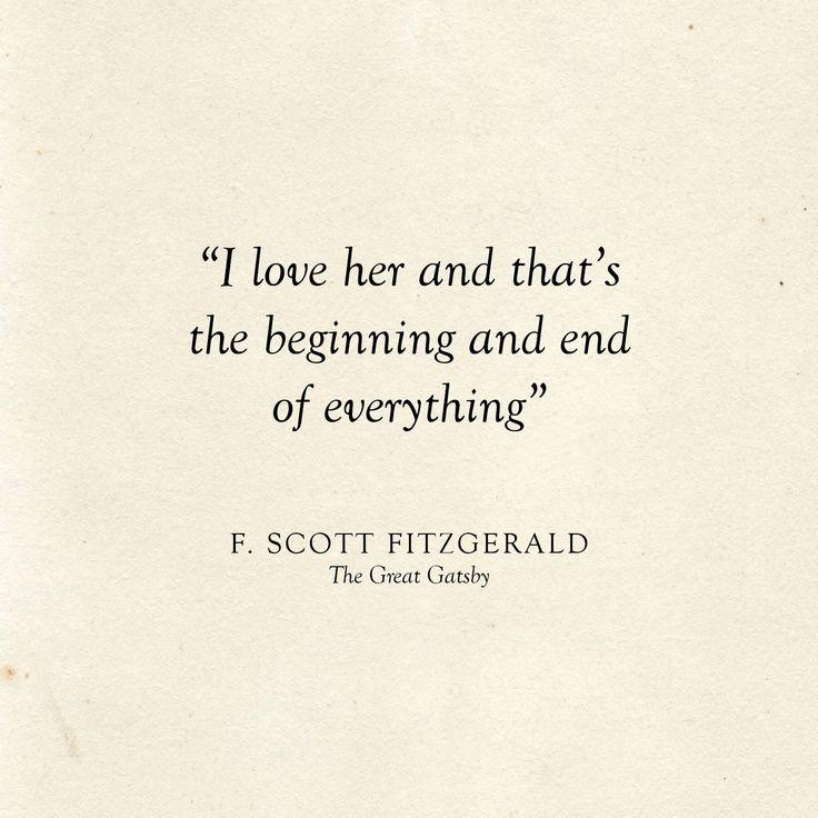 Wedding Quotes : Literary Wedding | Love Quotes | F. Scott ...
