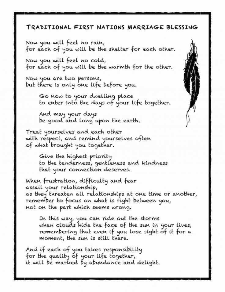 Wedding Blessing Quotes.Wedding Quotes Native American Marriage Blessing Professions For