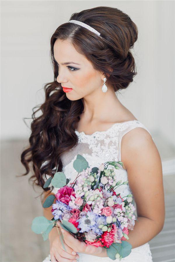 Wedding Hairstyle 20 Gorgeous Half Up Wedding Hairstyle Ideas