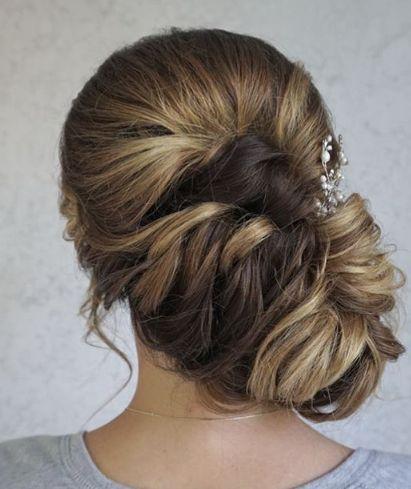 Wedding Hairstyle Side Low Updo Wedding Hairstyle Wedding Lande Leading Wedding Magazine Ideas Inspirations The Hottest New Wedding Trends