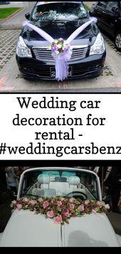 Bride\u0027s Cars  Wedding car decoration for rental